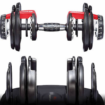 bowflex adjustable dumbbelss are both complex and expensive, but very good