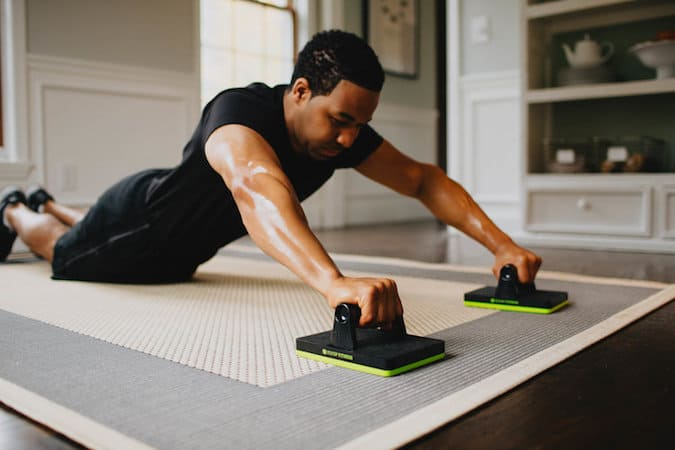 Core sliders are new on the scene, and a good cheap solution for travellers and home exercisers alike