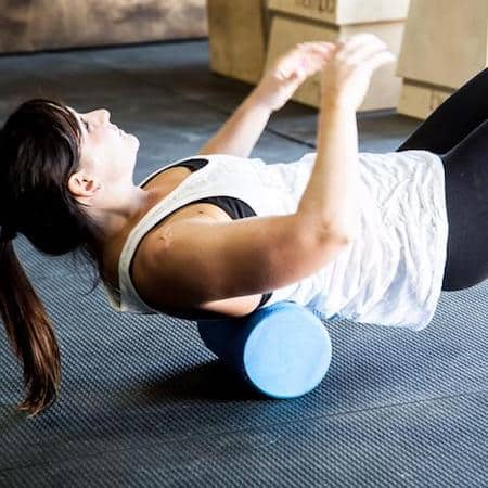 Foam rollers are good recovery tools for home and travel exercisers