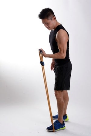 Resistance bands are very portable and versatile strength training equipment