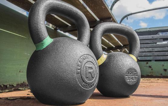 Rogue's kettlebells are simply badass