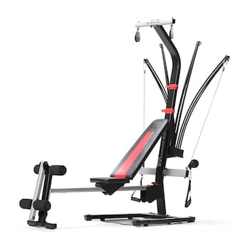 The Bowflex PR1000 home gym is a higher end beginner's option