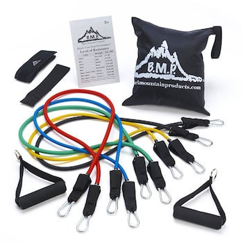 A good set of resistance bands can be worth when their weight in gold when it comes to building muscular strength