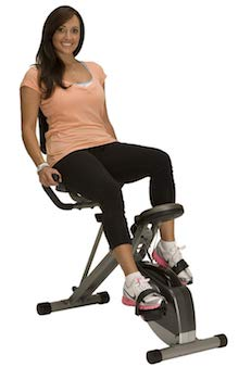 The exerpeutic 400xl recumbent bike is a good option for seniors who want to cycle, but find upright bikes too painful or uncomfortable