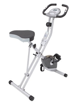The exerpeutic folding upright bike is simple and easy to use, and perfect for seniors looking to get low-impact exercise