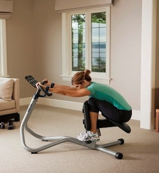 The precor stretch machine is the best there is for home gyms