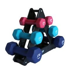 These f/fit neoprene dumbbells are great for beginner strength exercises
