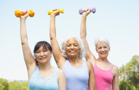 Physical activity is essential for healthy aging