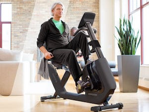 Recumbent bikes provide a great option for physical exercise for seniors