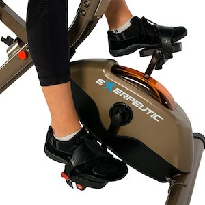 Exerpeutic gold 525xlr recumbent exercise bike pedals and shroud