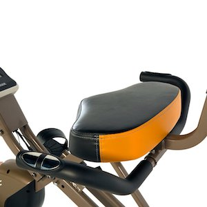Exerpeutic gold 525xlr recumbent exercise bike image of seat bottom