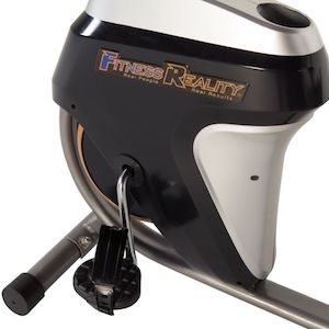 Fitness Reality R400 Recumbent Bike pedals and shroud