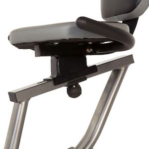 Fitness Reality R400 Recumbent Bike sliding seat rail