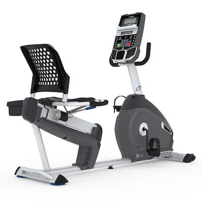 The Nautilus R614 is the next model down from the R616 recumbent bike
