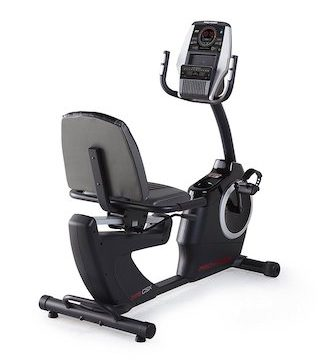 The proform 325 recumbent exercise bike is a great option for seniors