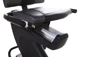 The seat on the proform 325 recumbent bike is very comfortable