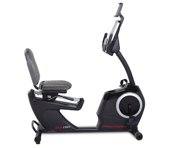 The proform 325 recumbent exercise bike is strongly constructed