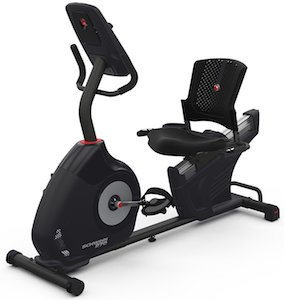 The Schwinn 270 recumbent exercise bike has a nice and strong frame