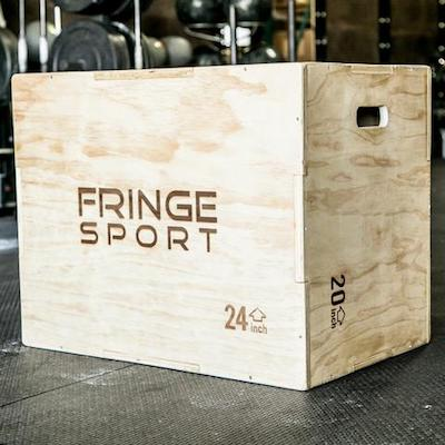Fringe sport multi-sided plyo box main image