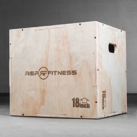 rep fitness 3-in-1 wood plyo box main image
