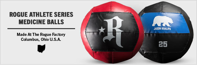 Rogue athlete series medicine balls