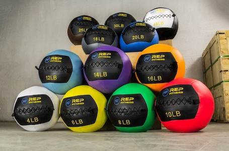Rep fitness medball family