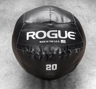 Rogue standard medicine ball black