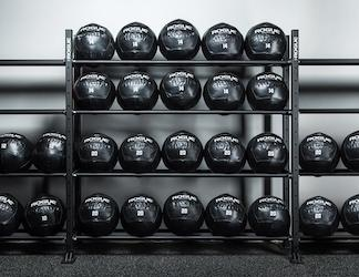 Rack of Rogue Medicine balls