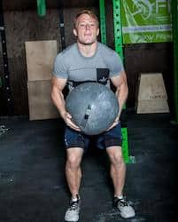 OneFitWonder slam balls come in all sizes, including huge 150 lbs, which can be used for atlas stone exercises