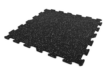 IncStores' 8mm Strong Rubber Tiles make excellent heavy-duty gym flooring