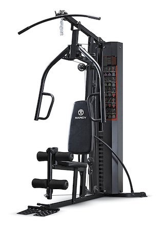 This marcy home gym is a very good buy for beginners
