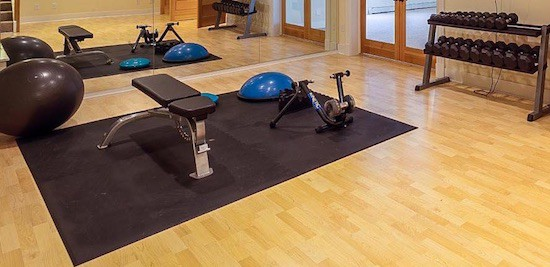 BalanceFrom puzzle mat is perfect for classing up your home gym