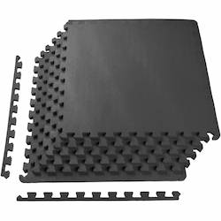 BalanceFrom foam puzzle mats are great lightweight flooring for your home gym