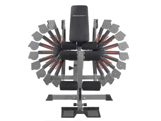 The adjustable cable arms on the xpress pro home gym have shown themselves to be a game changer