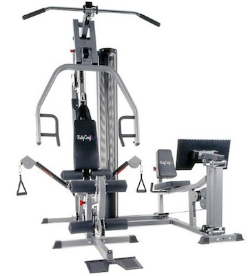 The xpress pro home gym from bodycraft comes with an optional leg press attachment