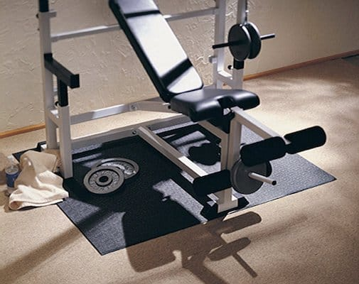These XMats are perfect for putting under weights benches and sets