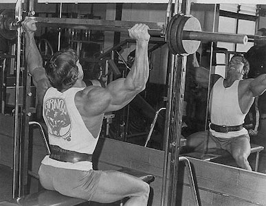 Arnold Schwarzenegger is a notable proponent of the Smith Machine