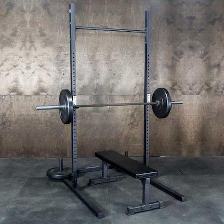 The Fringe Sport strength series squat rack is good value