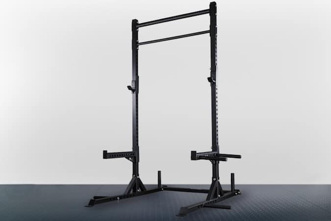 The Rep Fitness Squat Stand with Pullup Bar is outstanding value