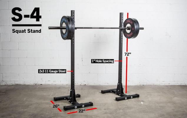 The S-4 indy stands are fantastic quality, but not great for lifting at your limits