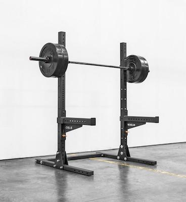 The Rogue SML-1 Squat Stand 2.0 is the most compact of the monster lite series
