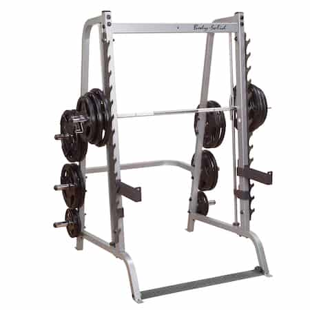 the body solid series 7 smith machine is the best standalone smith machine for home use