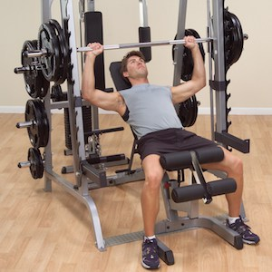 The incline bench that is included with this all-in-one package is a great addition