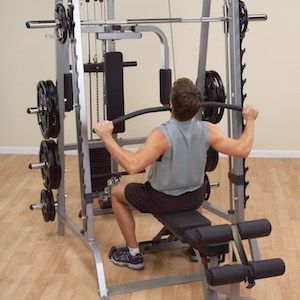 The Series 7 Smith Machine is extremely versatile