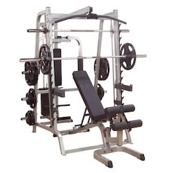 the body solid series 7 smith machine is the best all-in-one smith machine package for home use