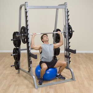 The series 7 can be used to do a huge range of strength / muscle-building exercises
