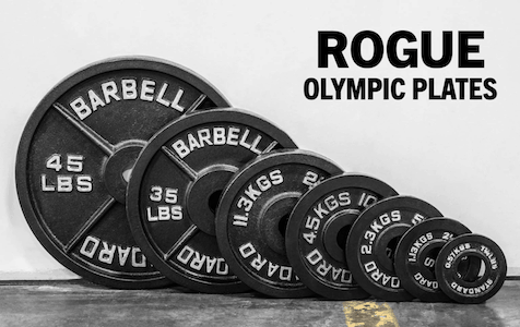 Rogue Fitness' Steel Olympic plates are second to none