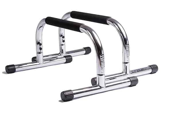 These chrome beauties from lebert fitness are good looking and highly functional