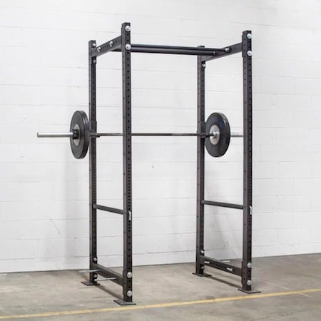 The bolt-together R-3 power rack is a good option if you're going to need to go through tight spaces to get to your home gym