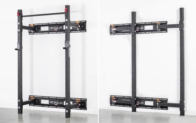 The RML-3W is a serious wall mount power rack